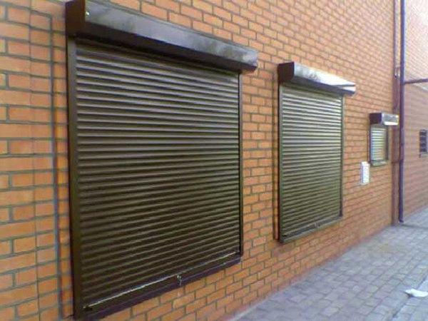 Защитные ставни на окна